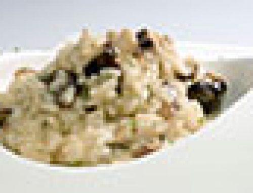 Risotto pré cuit aux champignons et truffes